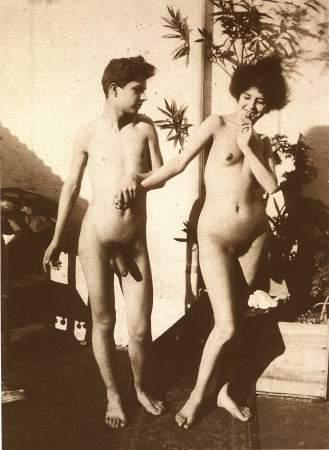 Ретро фото голых мужчин и женщин